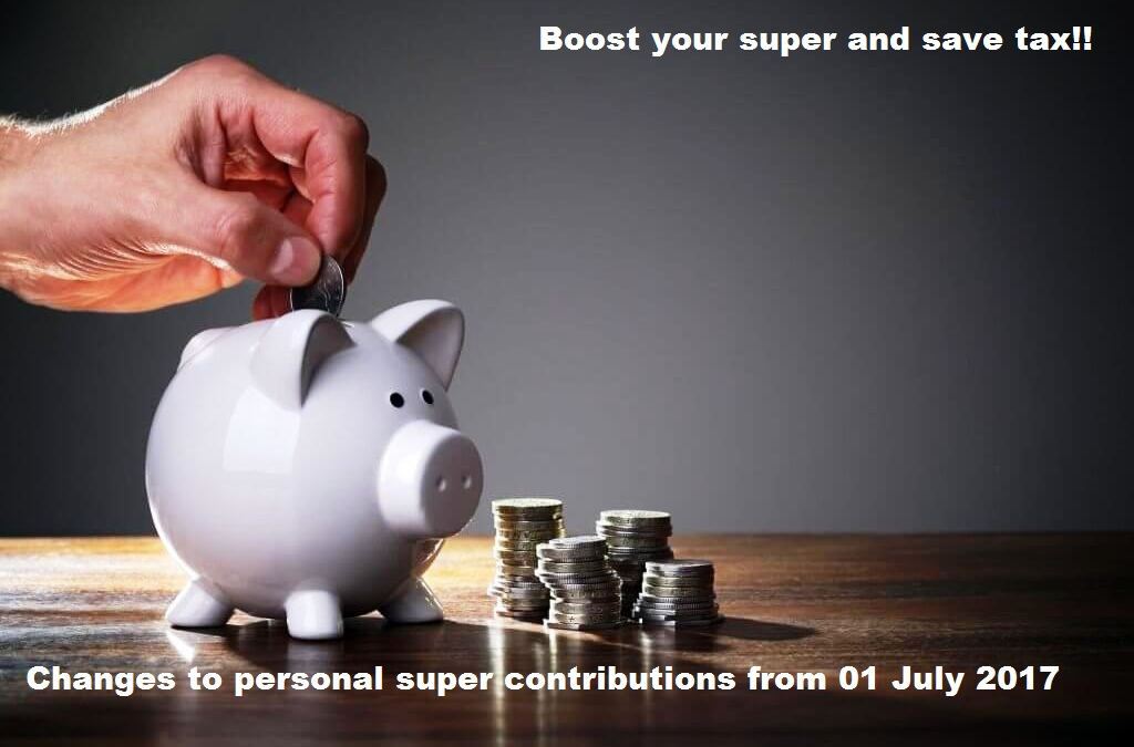 Changes to super contributions
