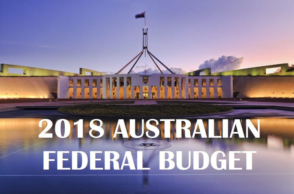 2018/19 FEDERAL BUDGET SUMMARY