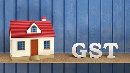 GST on Settlement of Residential Premises